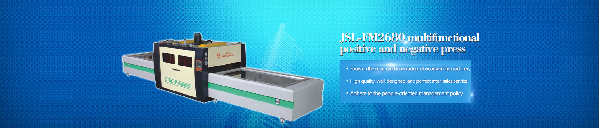 Foshan District of Shunde City Jia Shun Machinery Co. Ltd.